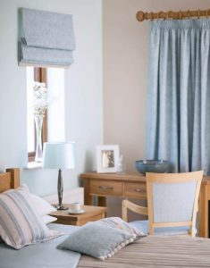 duckegg curtains, blinds and cushions