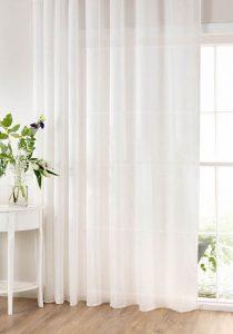 whites curtains