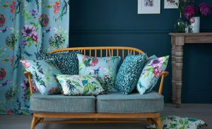 cushions to match curtains