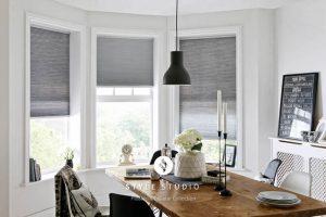 grey blackout blinds