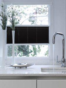 multizone black kitchen blinds