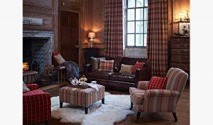 stylish living room with good interior design