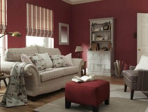 roman stripped blinds