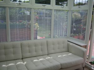 blinds for the conservatory