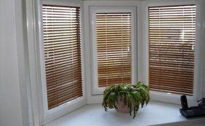 bespoke wooden blinds