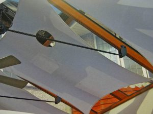 roof sails for sun reduction in conservatory