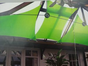 green shades for conservatory shades