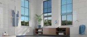 bathroom venetians blinds