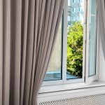 Bespoke grey curtains